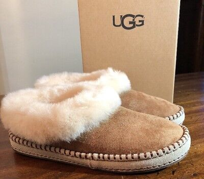 6cbf9c291d5 UGG WRIN 1007727 Chestnut Woman's Slippers Sz 6 Authentic Brand New & Box