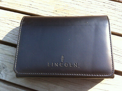 Lincoln MKT - 2013 - Owner's Manual - IN FRENCH - IN ORIGINAL POUNCH - VF tears