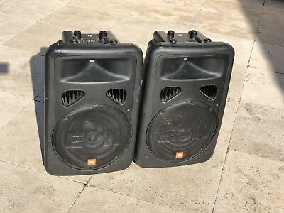 "Pair of JBL EON G2 15"" PA Speakers"