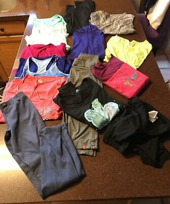 EUC-LOT OF 14 Athletic Clothing-ALO-Nike-Layers-Lucy-Hollister,more-Women SZ S