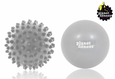 Planet Fitness Hot / Cold Massage Therapy Balls (2pc) Set , Muscle Trigger Point