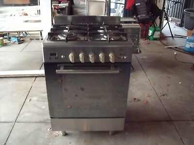 Stainless steel oven and cooktop Emilia