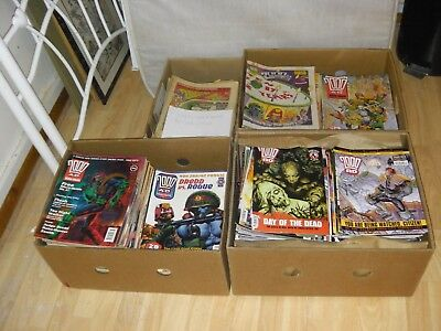 2000 AD comic collection from 4 comics for £1