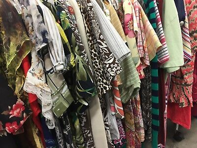 Wholesale Clothes Lot 25 Women's Quality Clothing Mall & Major Brand Names EUC
