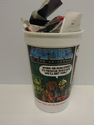 New 1985 HE-MAN Collectible glass.BURGER KING