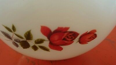 "JAJ Pyrex ""June Rose"" Mixing Bowls x 2"