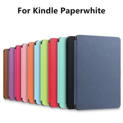 Smart Cover PU Leather Magnetic Case Colorful for Amazon Kindle Paperwhite 1/2/3