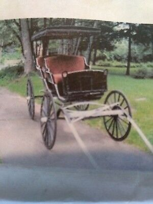 True Antique Horse Drawn Surrey Buggy Carriage Cart - Restoration project.