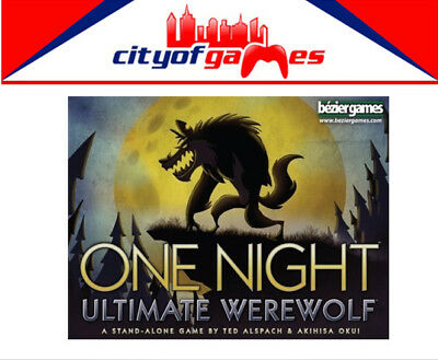 One Night Ultimate Werewolf Card Game Brand New