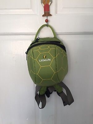 LittleLife Day Bag Safely Stray Day Sack Turtle