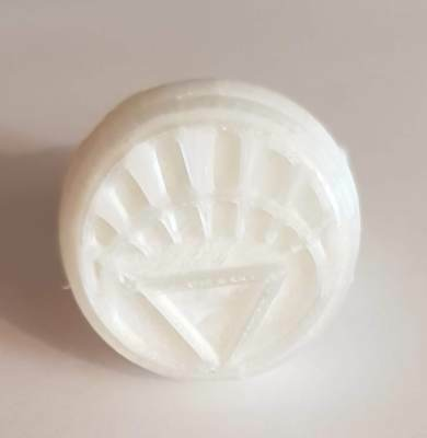 DC Comics White Lantern Ring Size 11 Blackest Night Green Lantern Cosplay