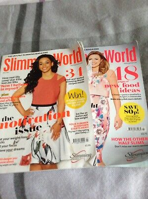 2 X Slimming World Magazines July 2017 & 2015