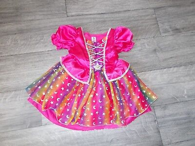 Baby Girl's Tu Age 1 - 2 Years Princess Moon & Stars Dress Fancy Dress