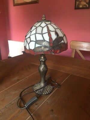 Tiffany Lamps X 2 One With Slight Damage To Bulb Holder