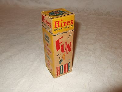 Old Hires Root Beer home recipe w orig box Unopened NOS Fun at Home Shakes Ice C