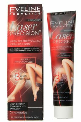 Eveline Laser Precision 3 Minute Hair Removal Cream for Legs 125ml Paraben Free