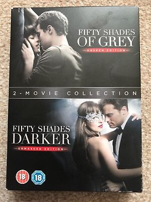 Fifty Shades ( 2 - Movie Collection DVDs 📀  📀  📀)