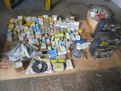 Job Lot Electrical Switches Contactors Siemens etc.