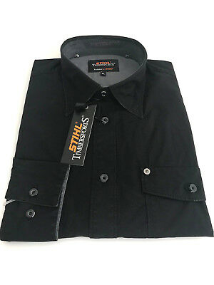 Stihl Timbersports Authentic-Shirt schwarz XL neu
