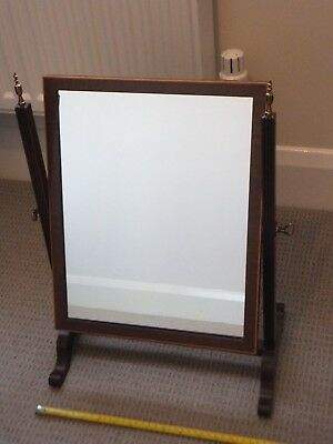 Edwardian toilet mirror [nice clean condition]