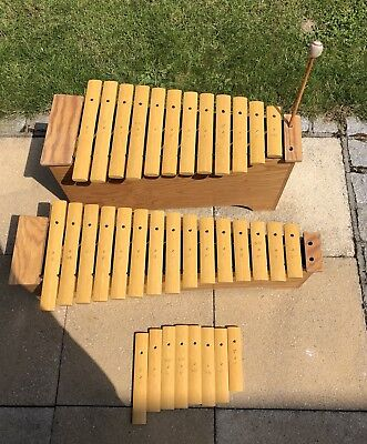 Sonor Percussion Xylophone BKX100 & TKX100 with One Original Beater