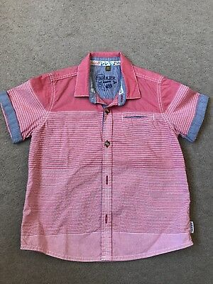 Boys Ted Baker Shirt Age 2-3 years smart Tshirt Infant Summer Casual Top toddler