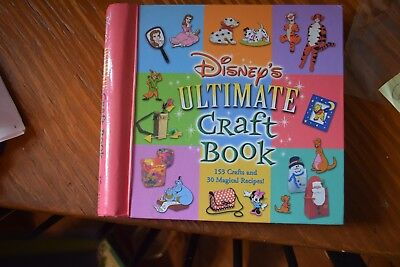 Disney's Ultimate Book of Crafts (2001, Hardcover)