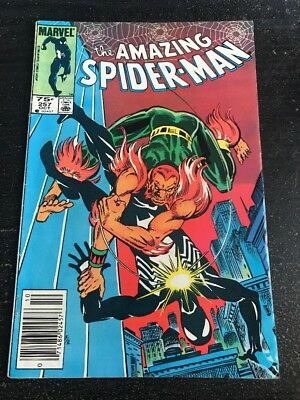 Amazing Spider-Man#257 Awesome Condition 7.0(1984) Puma, Black Suit !!