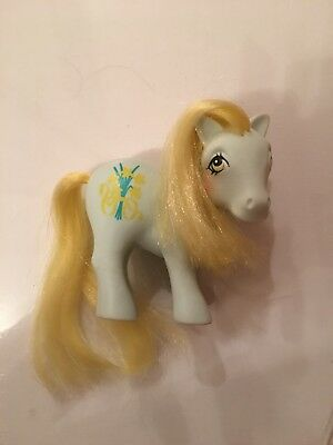 My Little Pony Mein Kleines G1 Daffodil Flower Pony