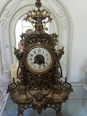 Antique French Clock Circ 1890
