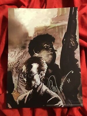 SAM AND TWITCH COVER ART PRINT~HUNT~SIGNED BY GREG CAPULLO 2011~SPAWN McFARLANE