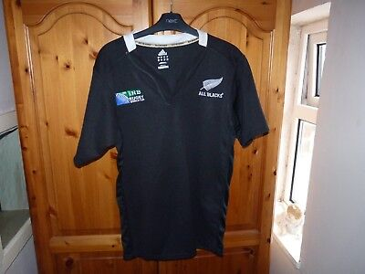 ALL BLACKS  Rugby Shirt Top Jersey  SIZE M