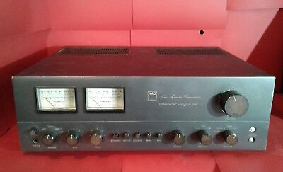 Vintage NAD 3045 Stereophonic Amplifier stereo amp New Acoustic Dimension