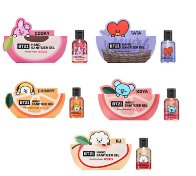 BTS - BT21 Genuine Hand Sanitizer collaboration with Olive Young, Korea