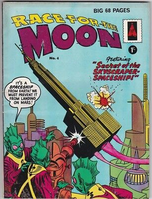 Mrj/ Race For The Moon #4 Thorpe And Porter Ditko Fn/vfn