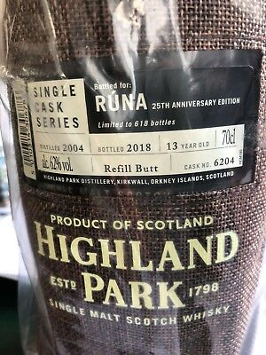 Highland Park 13 Jahre Single Cask for Germany #6204 2004 / 2018 62,0%