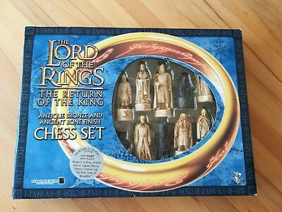 Herr der Ringe Lord of the Rings Schach Chess *sehr guter Zustand*