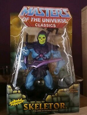 "SKELETOR*HE-MAN*MASTERS OF THE UNIVERSE*MOC*Classic*""CLASSICS*NEU"