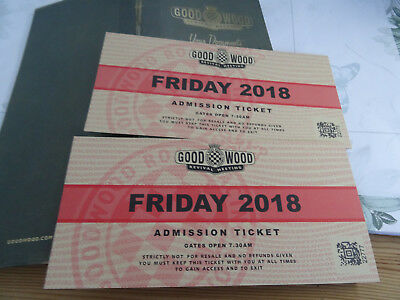 Goodwood Revival Tickets Friday 7th Sept 2018 x2