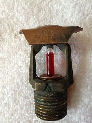 New 1998 Grinnell Model A 155* Brass Upright Sidewall FireSprinkler Head 1/2""