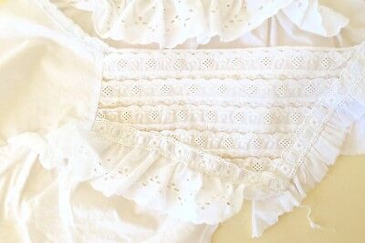 Vintage Antique Mixed Lot Of Pretty Embroidered Items