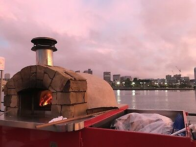 Fire Within Concessionaire pizza oven trailer