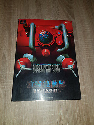 Ghost in the Shell Artbook Manga PS1 Masamune Shirow