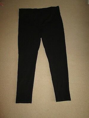 "Lovely Size 12-14 Black Zara Maternity Trousers 28 "" Leg See Pics!!"