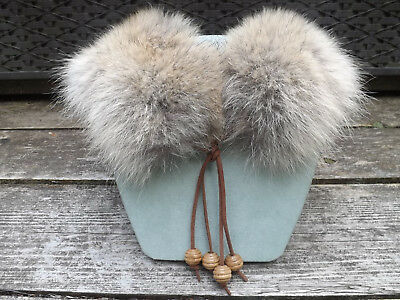 Handmade Beautiful Real Coyote Fur Necklace/collar/ Scarf
