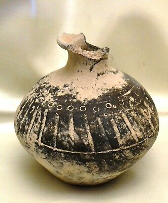 Original Ancient Bronze Age Pre-Urartian Pottery , circa 14 century BC