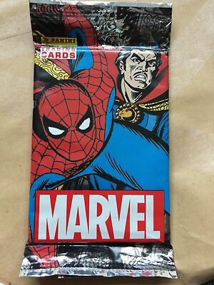 10 X Packs Marvel Trading Cards New