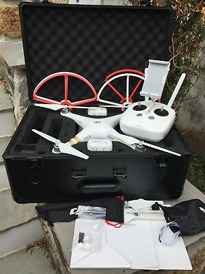 DJI Phantom 3 Professional with Hard Case and Prop Guards