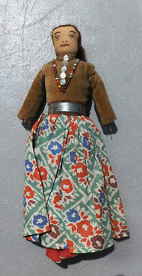 Very Interesting, Early Navajo Tourist Doll, 1920S-30S