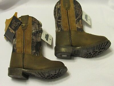 Smoky Mountain Toddler Boys Size 5 Camo Boots